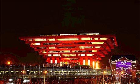 Shanghai World Expo site public facilities area