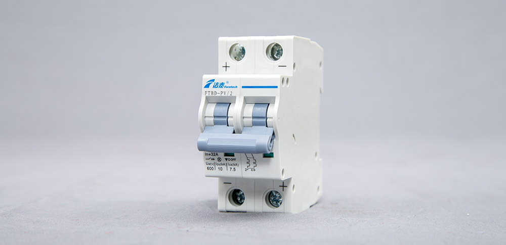 Direct-current Miniature Circuit Breaker for PV System-FTBD-PV